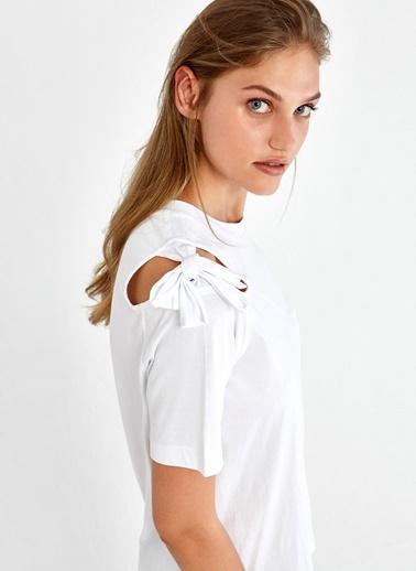 Fiyonk Detaylı Bluz-Ipekyol